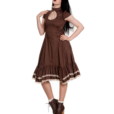 The Myrtle Adventurer Steampunk Dress