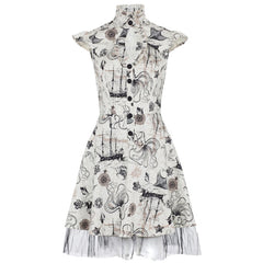 Nautical Adventure Steampunk Dress