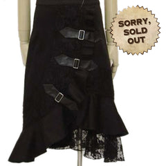 Nocturna Steampunk Skirt (SOLD OUT)
