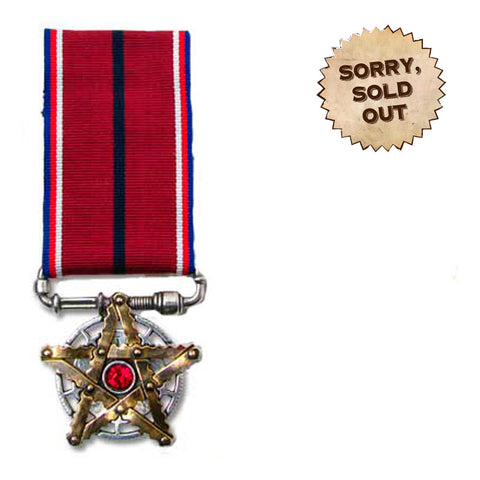 The Occult-Industrial Star Steampunk Medal of Honour