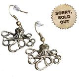 Steampunk Octopus Earrings