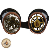 OctoSpike 847 Steampunk Goggles