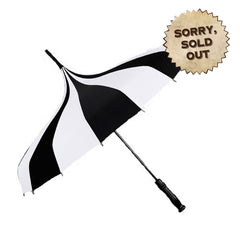 Poppy Striped Steampunk Umbrella Parasol (SOLD OUT)