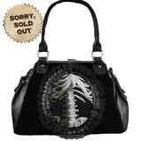 Skeleton Gothic Handbag