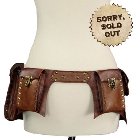 Steampunk Utility Belt in Brown (SOLD OUT)