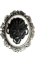 Steampunk Brooch Gas Mask Pin Steampunk Pin Steampunk Cameo Pin 1