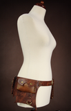Steampunk Belt Brown, Steampunk Utility Belt, Steampunk Clothing UK