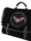 Steampunk Bag | Butterfly Collector Bag | Victorian Bag | Alternative Bag | Black Steampunk Bag | Moth Bag