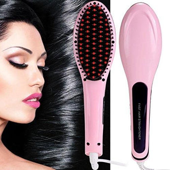 Hair Brush Straightener المشطة