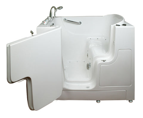 "30"" x 52"" x 41"" Transfer Tub Dual Jetted"