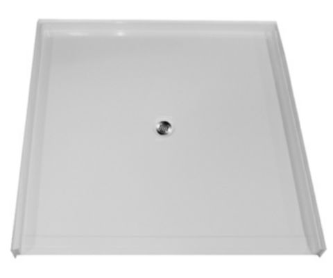 "5050 Barrier Free Shower Pan with 1"" Threshold"