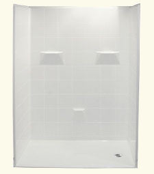 "6030 Barrier Free Shower with 1"" Threshold"