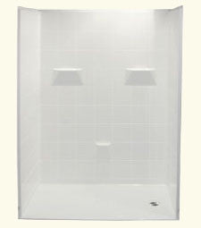 "6033 Barrier Free Shower Shower with 0.75"" Threshold"