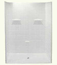 "6036 Barrier Free Shower with 0.875"" Threshold"