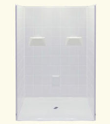 "6048 Barrier Free Shower with 1.125"" Threshold"