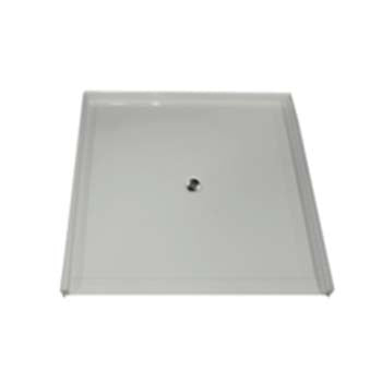 "6060 Barrier Free Shower Pan with 1.25"" Threshold"