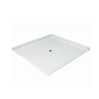 "6060 Side Barrier Free Shower Pan with 1.125"" Threshold"