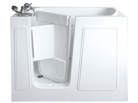 "26"" x 45"" x 38"" Walk in Tub Water Jetted"
