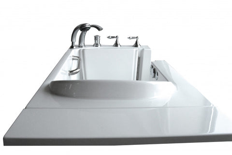 "29.5"" x 54.5"" x 38""  Walk in Tub Water Jetted"