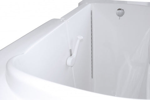 "30"" x 55"" x 47"" Walk in Tub Air Jetted"