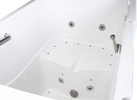 "35"" x 55"" x 41"" Walk in Tub Water Jetted"