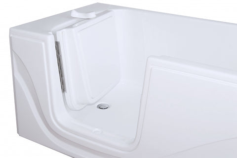 "30"" x 60"" x 22"" Lay Down Tub Dual Jetted"