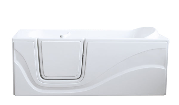 "30"" x 60"" x 22"" Lay Down Tub Air Jetted"