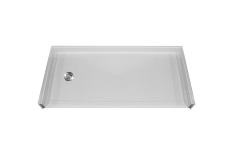 "5430 Barrier Free Shower Pan with 1"" Threshold"
