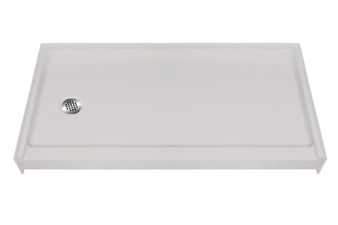 "6033 Low Threshold Shower Pan with 4"" Threshold"