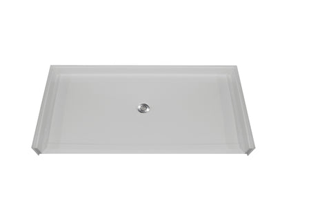 "6033 Barrier Free Shower Pan with 1"" Threshold"