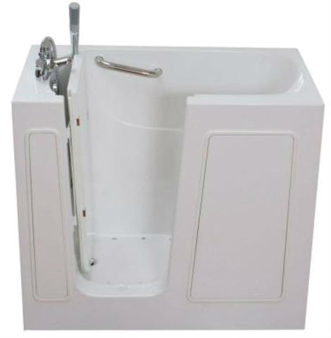"26"" x 45"" x 38"" Walk in Tub Air Jetted"