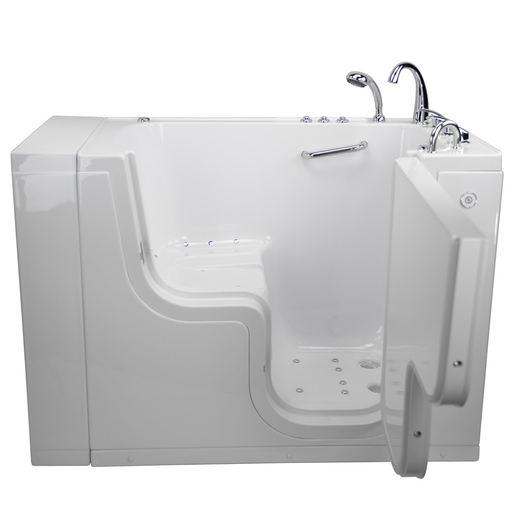 New Acrylic 3052 Wheelchair Accessible Walk in Tub dual jetted ...