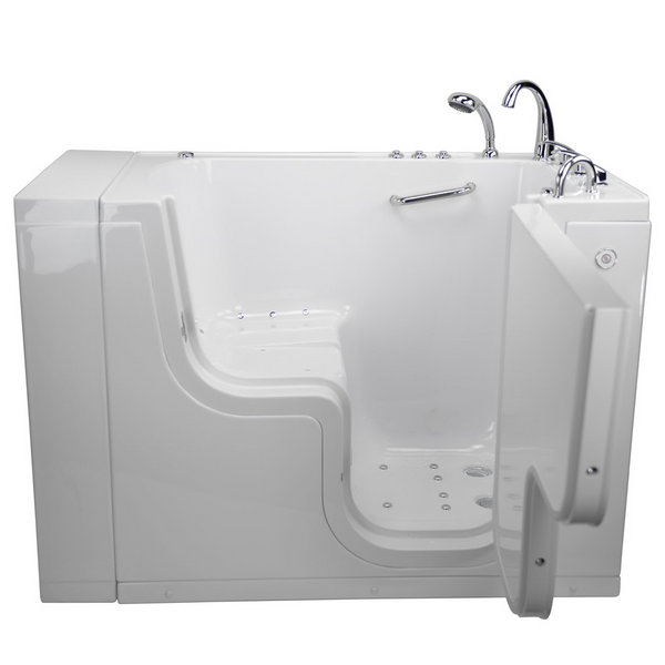 New Acrylic 3052 Wheelchair Accessible Walk in Tub dual jetted