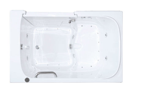 "33"" x 55"" x 41"" Walk in Tub Dual Jetted"