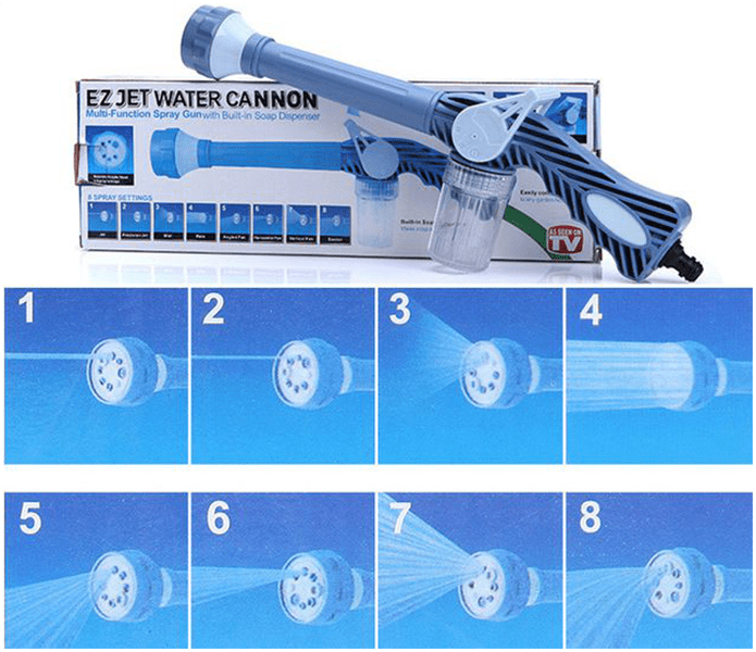 TrendJet™ - 8 In 1 Water Cannon
