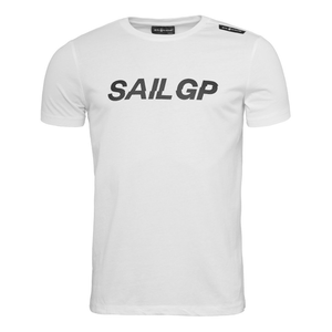SailGP Originals Logo T-Shirt - White
