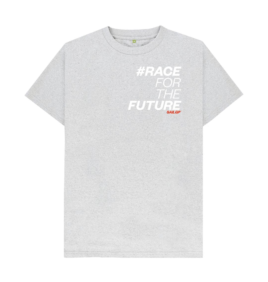 Grey #RaceForTheFuture T-Shirt (5872175087772)