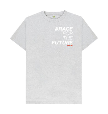 Grey #RaceForTheFuture T-Shirt