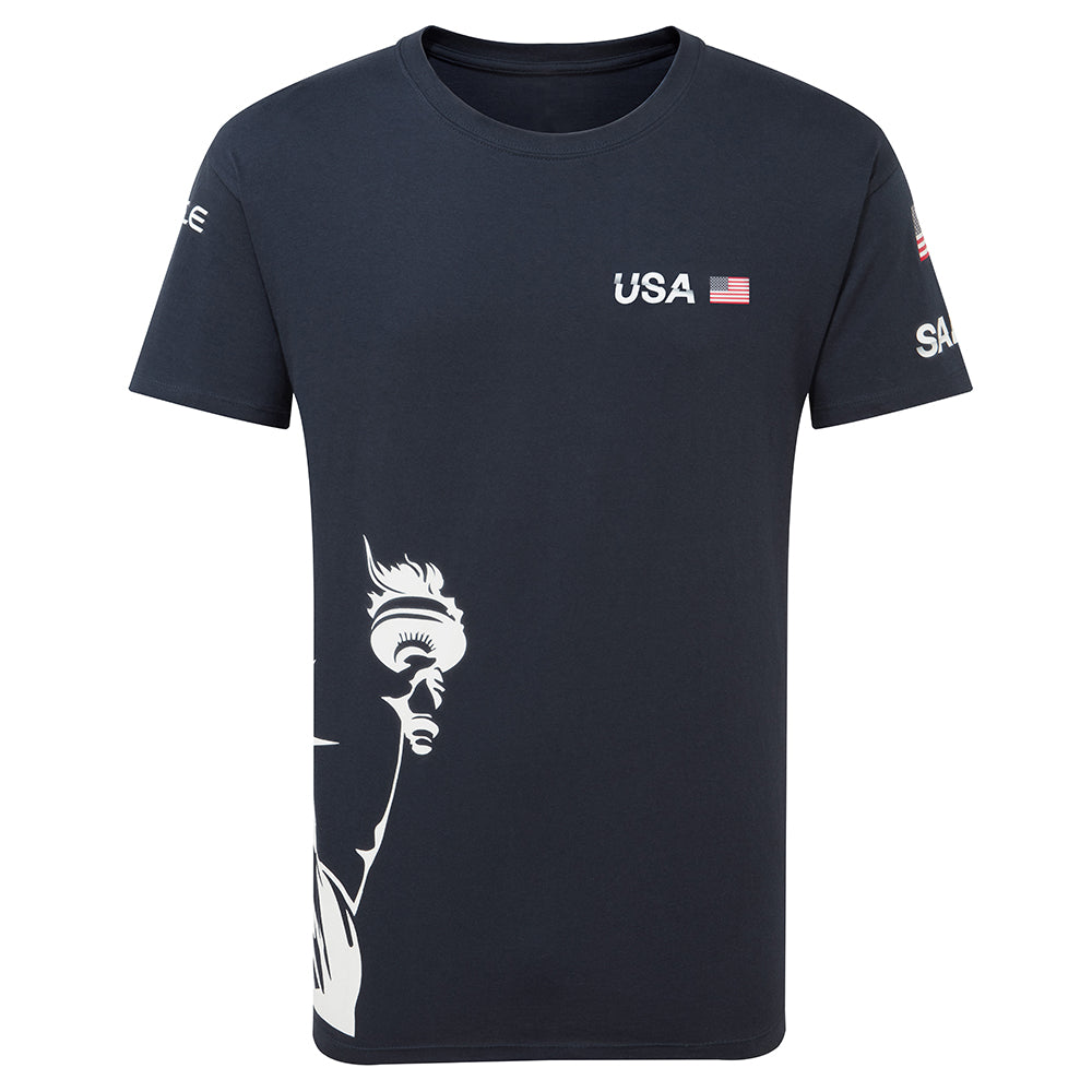 USA SailGP NAVY T-Shirt