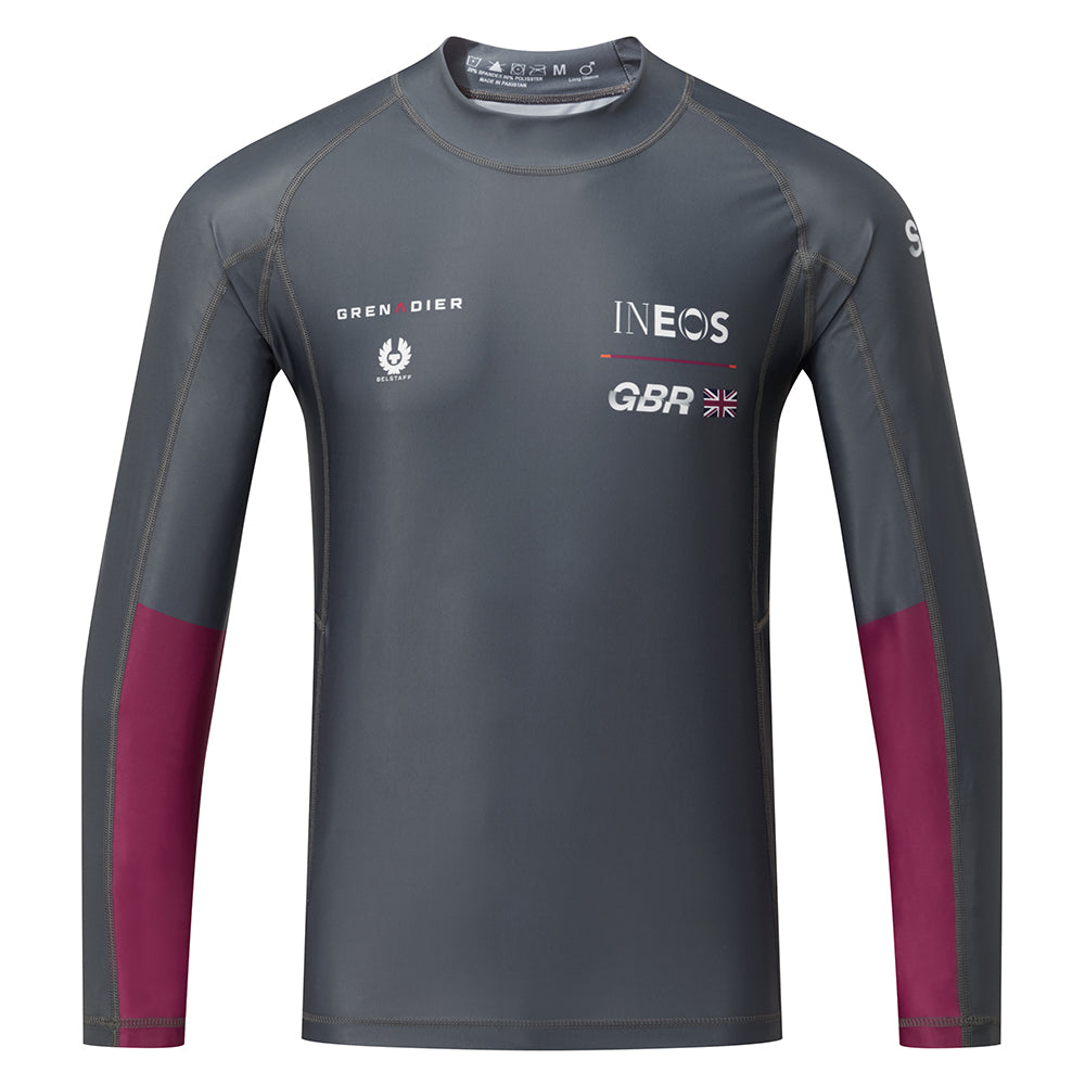 Great Britain SailGP CHARCOAL Rash Vest
