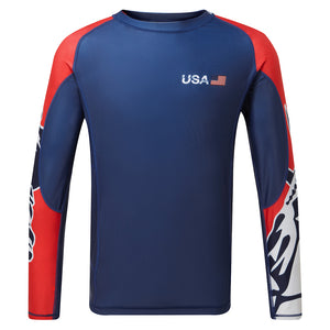 USA SailGP OCEAN Rash Vest (4525651951712)