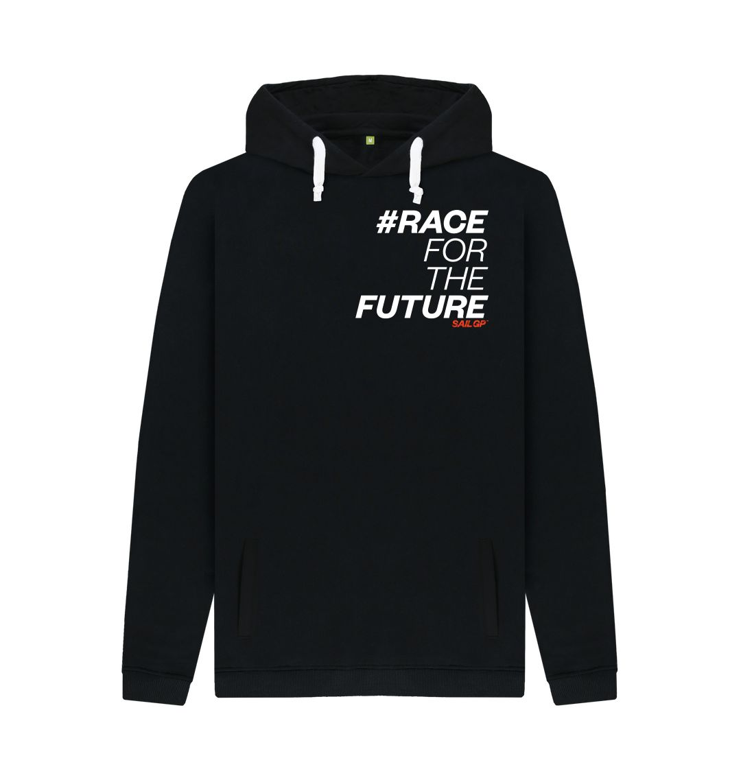 Black #RaceForTheFuture Black Hoody (5872250355868)