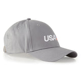 USA SailGP Team: Cotton Cap  - Silver