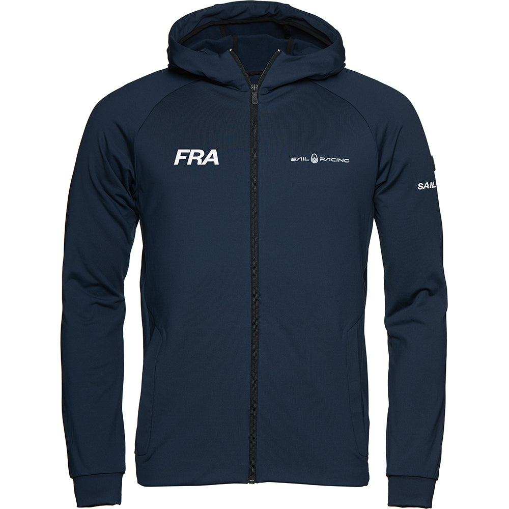 France SailGP NAVY Fleece Hood