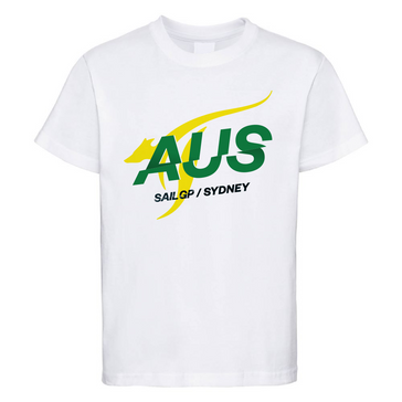 Australia SailGP White T-Shirt - CLICK AND COLLECT IN SYDNEY