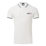 USA SailGP Team: Men's Crew Polo - White