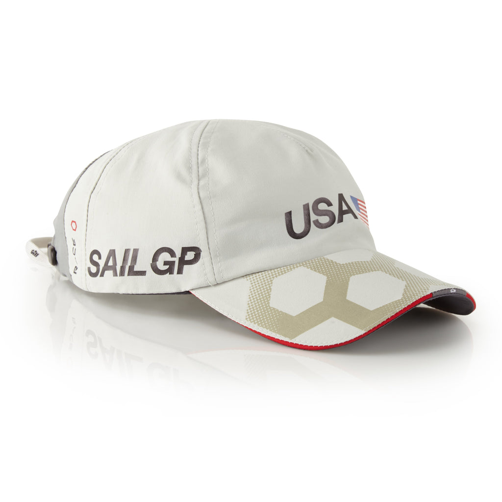 USA SailGP Team: Race Cap - Silver