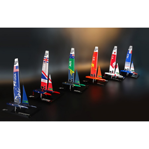 SailGP GREAT BRITAIN desk model F50 Catamaran replica (4599808655456)