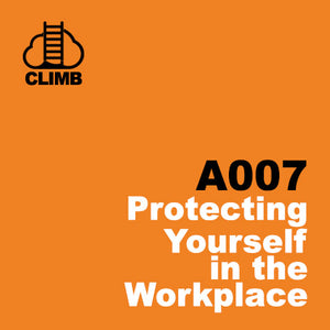 60 min Hospitality Climb class- Protecting Yourself in the Workplace