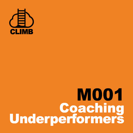 60 min Hospitality Climb class- Coaching Underperformers